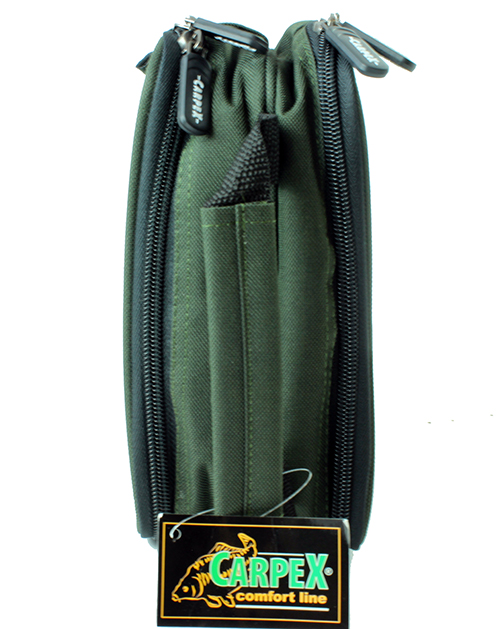 Rig wallet carp pike coarse new carpex fishing tackle for Rigged fishing backpack