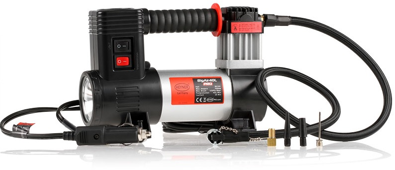 Hydraulics, Pneumatics, Pumps & Plumbing The Cheapest Price Premium Heavy Duty 12v Air Compressor 40l 100psi Tyre Inflator Led Lamp Heyner®